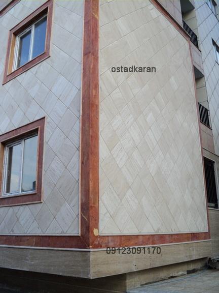 قیمت ساختمان تمام کار نما سرامیک - 25