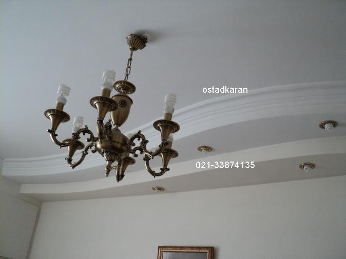 عکس گچبری سقف 6