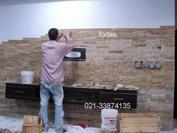کاربرد های چسب کاشی و سنگ آنتیک خمیری فورتکسدقت داشته باشید که برای مصرف چسب برای نمای ساختمان چسب را با مقداری مایع بتون مخلوط نمایید .
